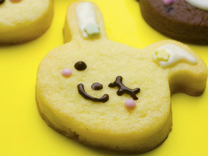 可愛いうさぎのクッキー